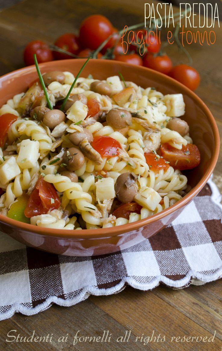 pasta fredda con fagioli tonno e pomodorini ricetta insalata di pasta estiva