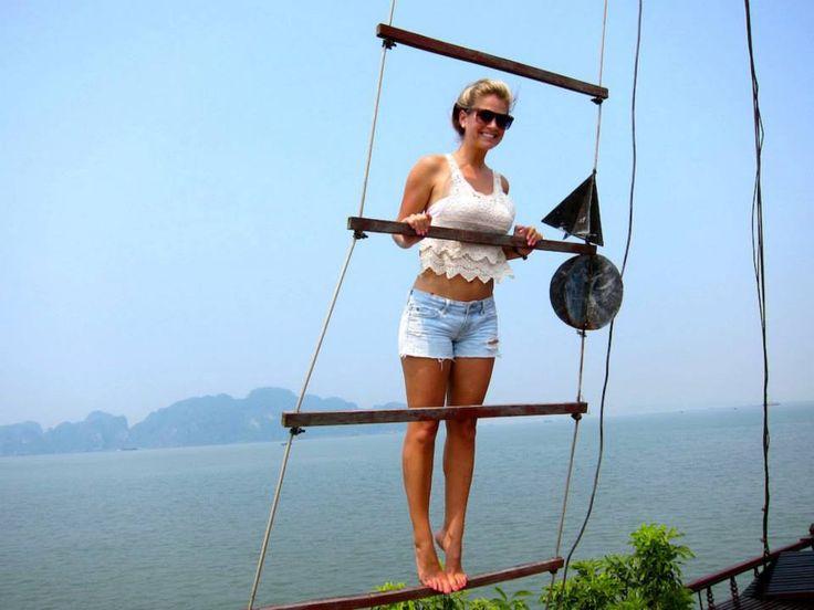 in Halong bay Vietnam