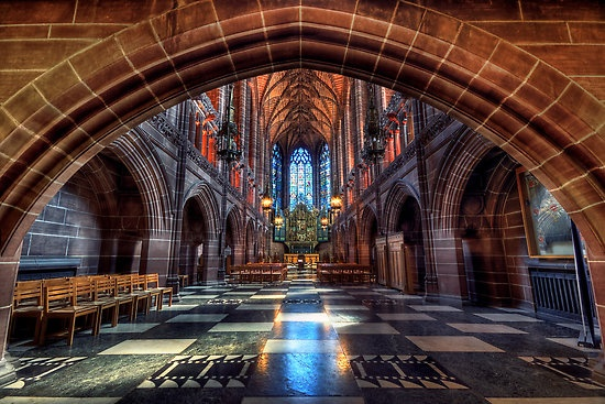 The Lady Chapel, Liverpool Cathedral by Jason Connolly