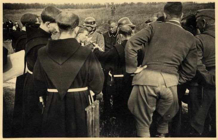 Nazi photos showing Christian influence