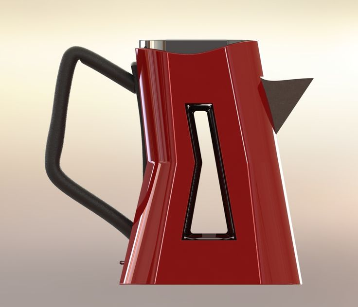 Kettle concept exploring form and aesthetic to create a unique design. Created in SolidWorks.
