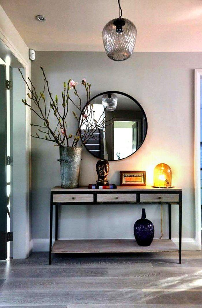 Den kleinen Flur gestalten – 25 stilvolle Möbel – #en # Furni …   – Foyer Ideen Eingang