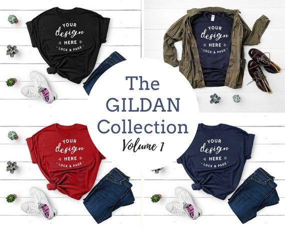 Download Free Gildan Apparel T Shirt Mockup Bundle T Shirt Flat Lay Gildan Psd Shirt Mockup Clothing Mockup Tshirt Mockup