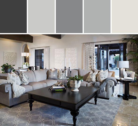Living Room Designed By Wayfair via Stylyze