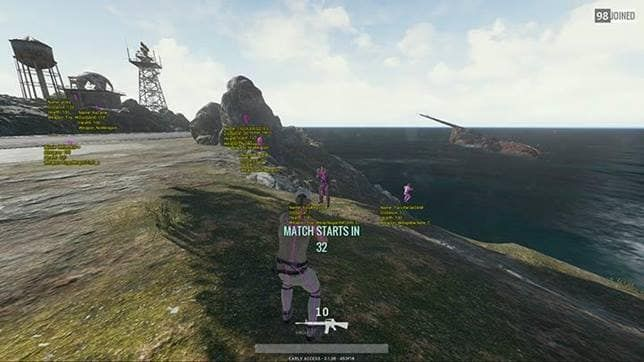 Playerunknowns Battlegrounds pubg wall hacks #android #iosgamer