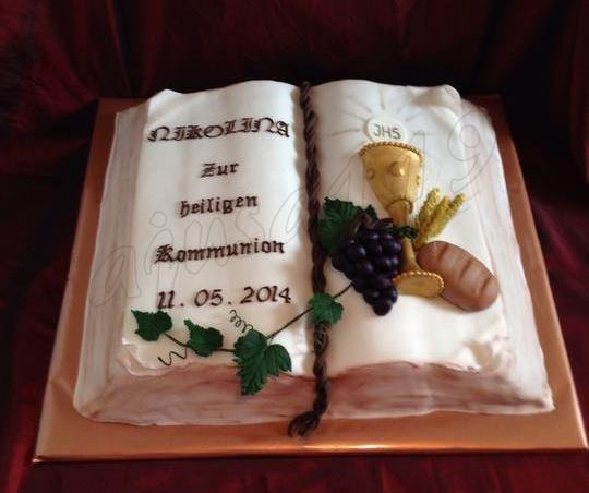 Kommunionstorte, Communion cake, Torta na 1.sv. prijimanie
