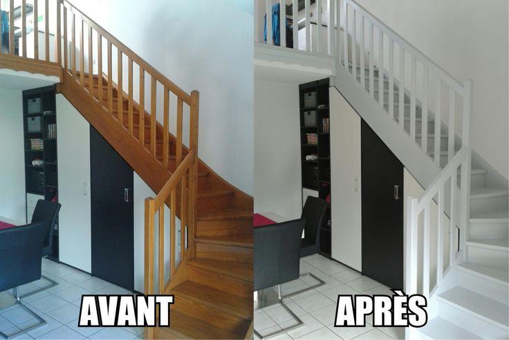 Les 106 meilleures images propos de deco maison sur - Peindre un escalier en pierre ...