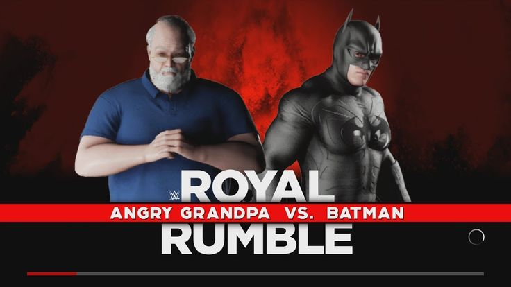 Angry Grandpa vs Batman