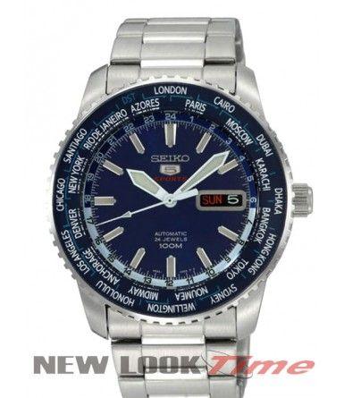 Relógio SEIKO 5 Sports Automático 24 Jewels 4R36AF/1 Relojoaria New Look Time