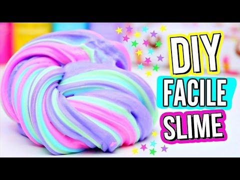 RECETTE DE SLIME FACILE - SLIME TEST - YouTube