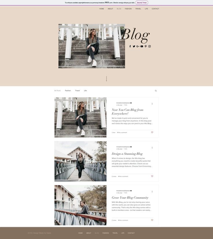 WIX Website Template 3425 #Ad #sponsored #Template