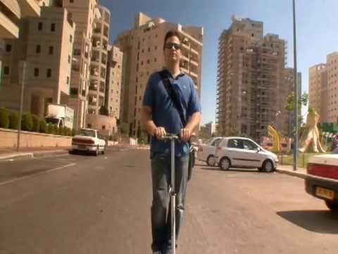 Xootr Scooter Israel - Urban Transport - קורקינט סקוטר זוטר - YouTube