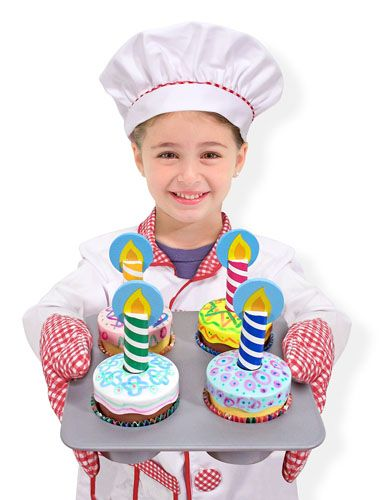 Decorate Cupcake Set | Play Food Set | Melissa & Doug