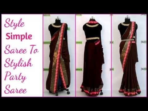 How to Wear Bollywood Saree like Shraddha Kapoor - YouTube