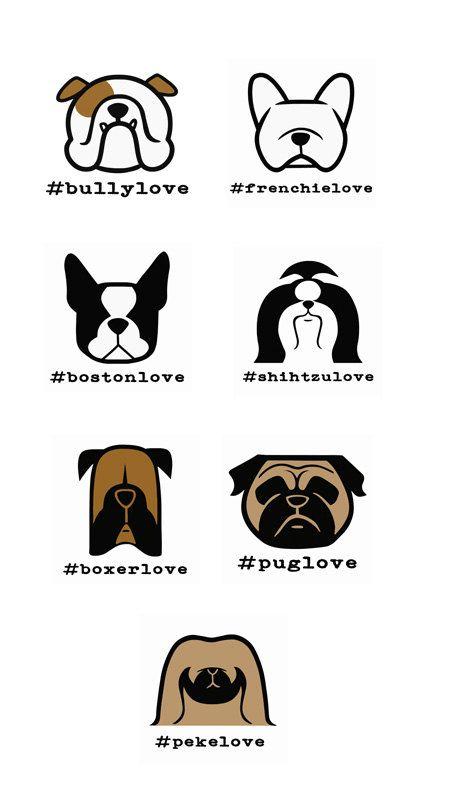 French bulldog Vinyl-Sticker-Aufkleber von SmooshfaceUnited