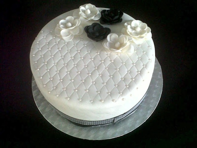 A beautiful cake inspired by the Chanel 2.55 bag !