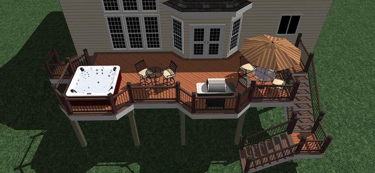 MandJT3 | 3D Custom Deck Design | Breyerconstruct | Flickr