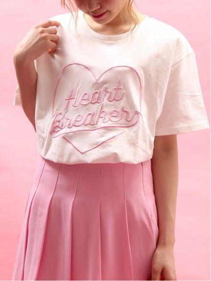 WC(ダブルシー)のWC/ハートブレイカーTシャツ。渋谷109の人気ブランド/ショップの最新レディースファッションや新作、人気、おすすめアイテムをお届け。お得なイベント情報も