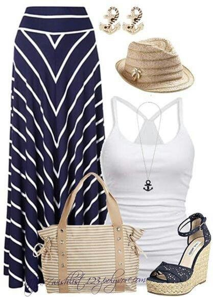 Nautical,  My Ya Ya outfit for next June