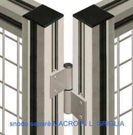 Snodo del separè MACRO R. L. GRIGLIA