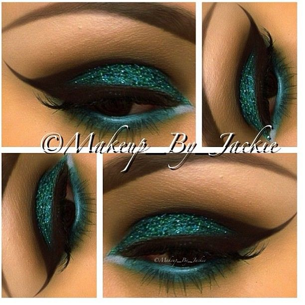 @makeup_by_jackie used Spearmint for this gorgeous look. - @eyekandycosmetics- #webstagram