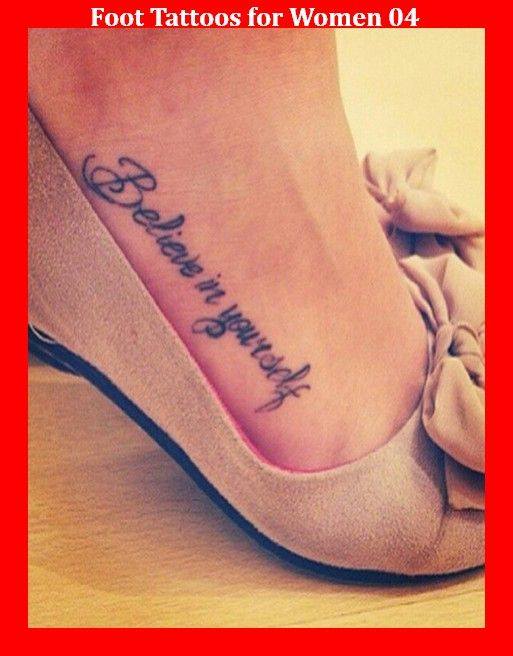 Foot Tattoos for Women 04