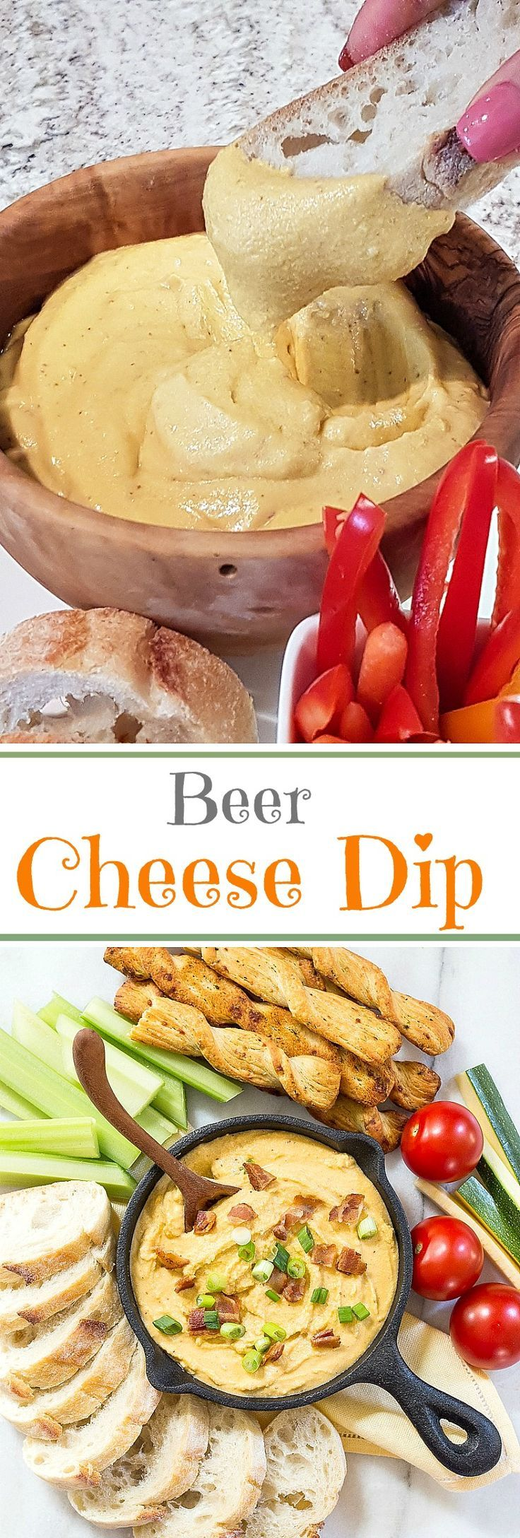 Canadian Beer Cheese Dip is the kind of snack that you want to include at every event. Who doesn't love cheese, bacon, and beer?!