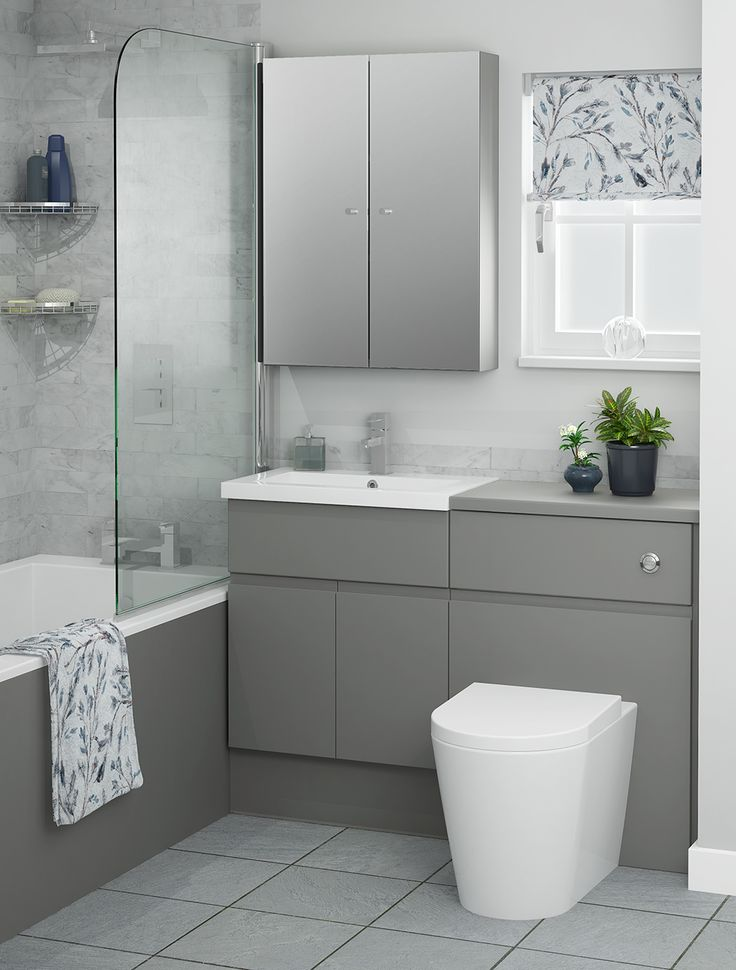 Evoke a stylish look that makes an impact with Dust Grey furniture, ideal for a bathroom with a modern look. Grey finishes are very on trend for this year, which is why we've included a lighter and a darker option. Dust Grey is the darker of the two and has a gorgeous smokey tone.
