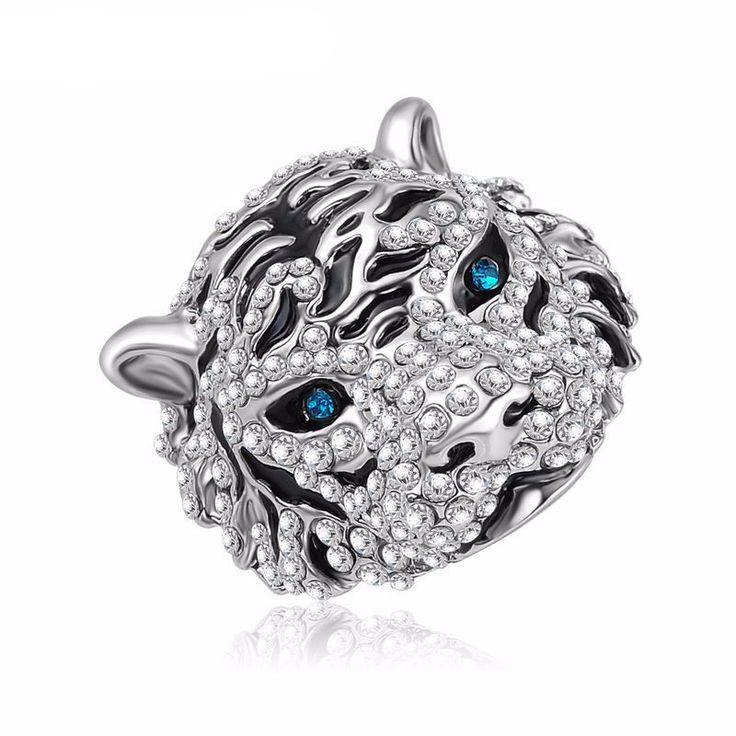 Tiger Shaped Ring