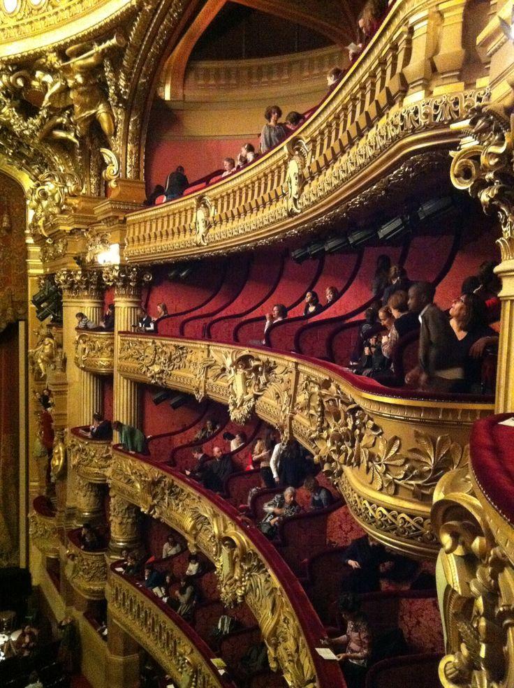 Palais Garnier Ballet. paris