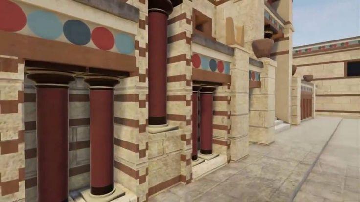 Η Μινωική Κρήτη... αναπαράσταση της Κνωσού