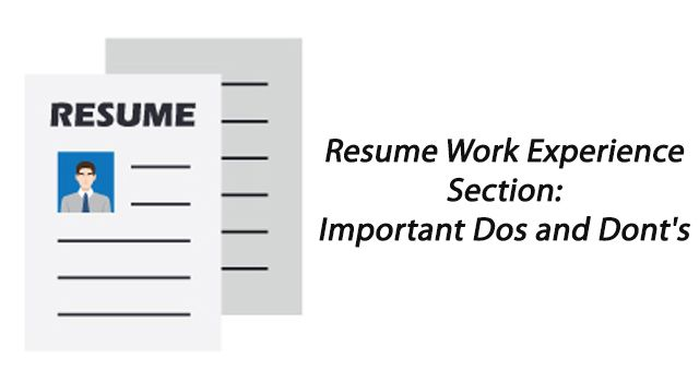 Whatu0027s The Right Approach To Write Your Resume Work Experience - cv versus resume