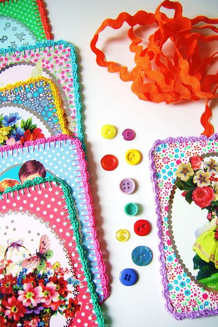 silly old suitcase: DIY-Tutorial; kleurig muur-hang-ding...colourful wall-hangy-thing