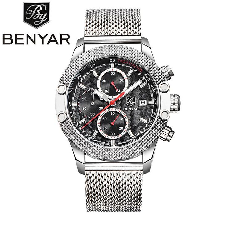 Like and Share if you want this  Relogio Masculino Top Luxury Brand BENYAR Men's Sport Chronograph Watches Men Mesh Band Multifunction Waterproof Quartz Watch     Tag a friend who would love this!     FREE Shipping Worldwide     Buy one here---> https://shoppingafter.com/products/relogio-masculino-top-luxury-brand-benyar-mens-sport-chronograph-watches-men-mesh-band-multifunction-waterproof-quartz-watch/
