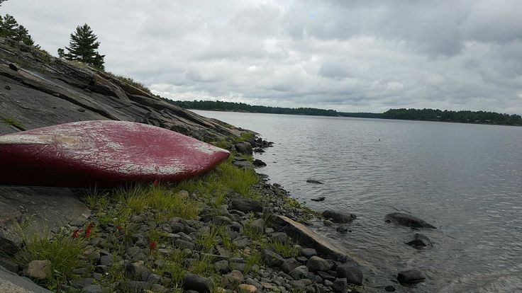 Ah, the French River Provincial Park! Navigating with PathAway in our canoe!! http://pathaway.com/purchase.php?id=buy