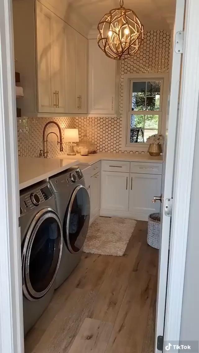 Pantry Laundry Room, Laundry Room Layouts, Laundry Room Remodel, Laundry Room Organization, Laundry In Bathroom, Laundry In Kitchen, Laundry Bathroom Combo, Modern Laundry Rooms, Laundry Room Doors
