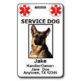 Custom Service Dog ID Cards