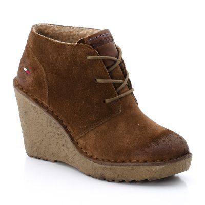 Boots nubuck Gill 1 - Tommy Hilfiger chaussures femme #fashion #style