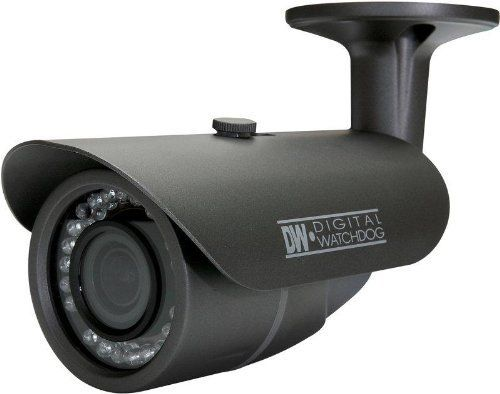 """DWC-B362DIR - Weather Proof Bullet Camera by DIGITAL WATCHDOG. The high resolution bullet camera B362DIR is the finest bullet camera with an affordable price. With its innovative features, sleek attractive design, and DW's patent-pending """"No Fog and No Condensation"""" circuit, the camera is ideal for a wide range of video surveillance applications.   Contact CompQuest Technology for more information."""