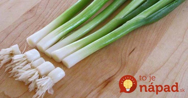 Vitamíny z parapety: Dopestujte si nekonečnú zásobu čerstvej zelenej cibuľky doma a bez práce!