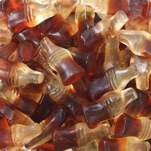 Haribo Gummy Cola Bottles