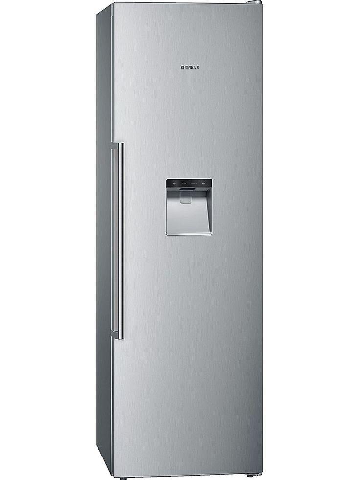 Siemens GS36DPI20 frys. Ett frysskåp i rostfri design från Siemens, Energiklass: A+ med NoFrost. Med noFrost frostar frysen av sig själv med jämna mellanrum – helt automatiskt.