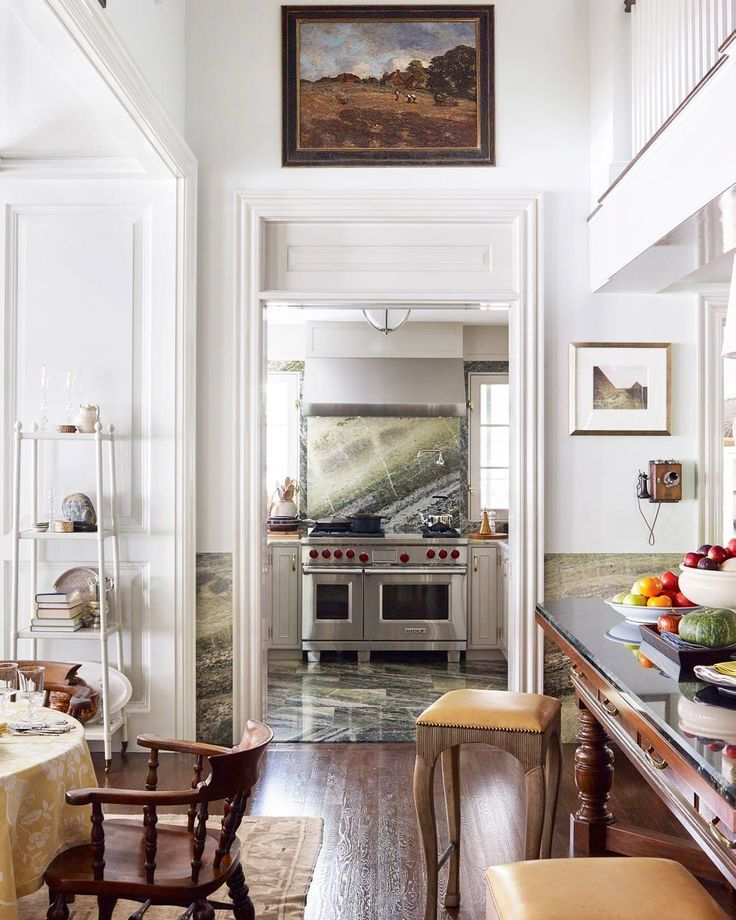 "Veranda Magazine (@verandamag) on Instagram: ""Kitchen goals, for sure. | Photo: @francescolagnese; Design: @AeroStudios #ThomasOBrien #DanFink…"""