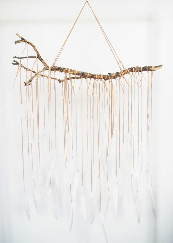VættirBranch   Bark Tan  Feathers, Leather &  Quartz Crystal  Large  Available at:  http://beautifuldreamers.com/