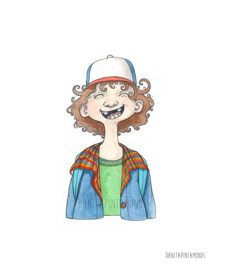 "Consulta mi proyecto @Behance: ""Dustin"" https://www.behance.net/gallery/45234881/Dustin #StrangerThings #Dustin"
