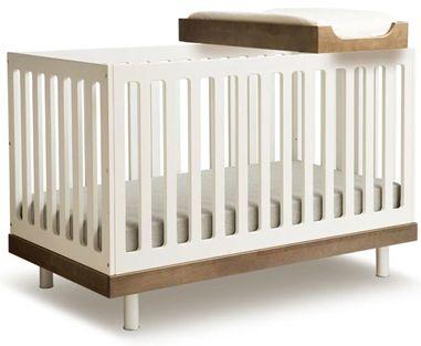 crib contemporary cribs contemporary design convertible crib baby