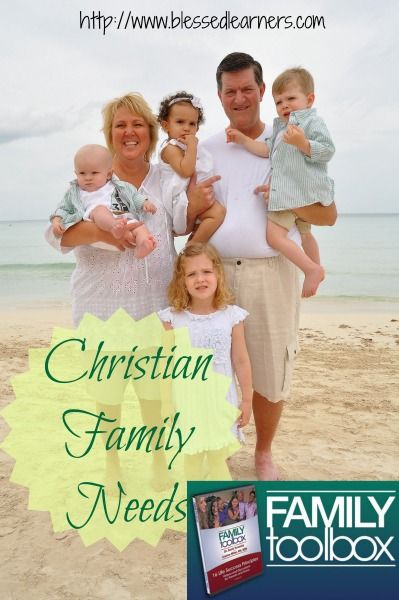I am really sure that a Christian family needs Family Toolbox, A Program for Parents and Teens, to help parents learn more about their teens and to get teens more character education as Christians.