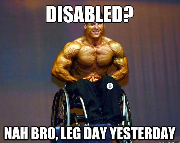 leg workout memes | ... leg day. Sent in by Daniel Porto ...