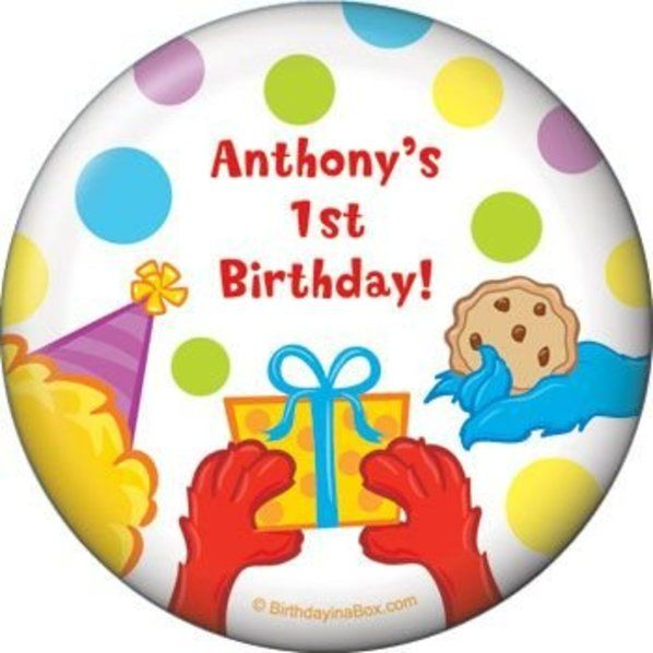 Check out Sesame Friends Magnet - Custom Magnets & Party Supplies from Birthday In A Box