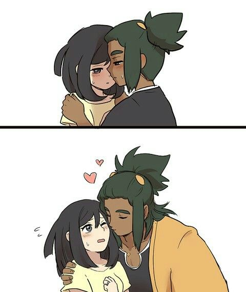 Hau and Moon. >> I didn't ship this till I saw this picture... now I ship it